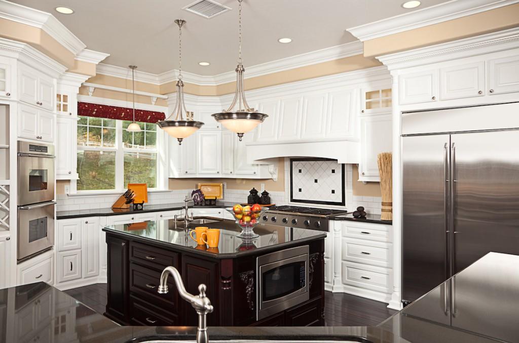 top building custom kitchen interior